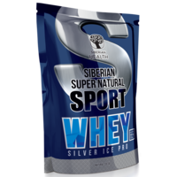 Siberian Super Natural Sport. Сывороточный протеин Silver Ice Whey (натуральное какао) 500 г